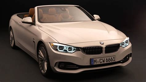 New Bmw 4 Series Convertible With Opening And Closing