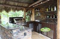 interesting tropical outdoor kitchen ideas Outdoor Kitchen - Tropical - Patio - miami - by Broward Landscape, Inc.