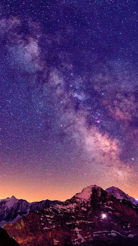 milky   mountains iphone wallpaper iphone wallpapers