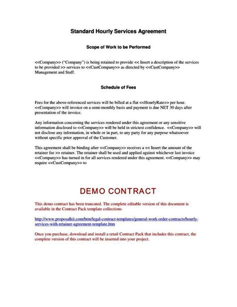 Scope Of Services Agreement Template scope of services agreement template sletemplatess
