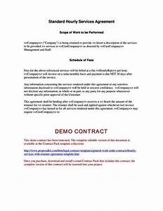 scope of services agreement template sampletemplatess With scope of services agreement template