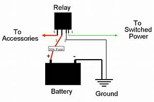 question about fuel pump cutoff switch relay acura With wire diagram relay