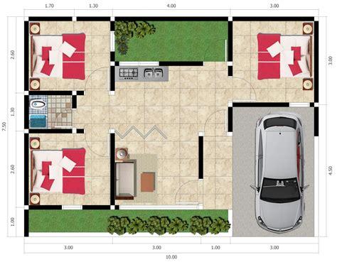 gambar desain rumah minimalis type    kamar tidur
