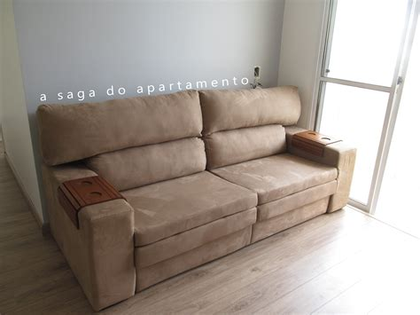 sofá norte shopping sof 225 suede a saga do apartamento