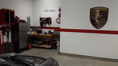 porsche garage decor garage decorations memorabilia rennlist discussion forums