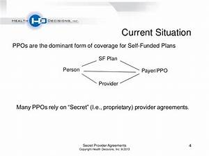 Health Decisions Webinar: Secret Provider Agreements ...