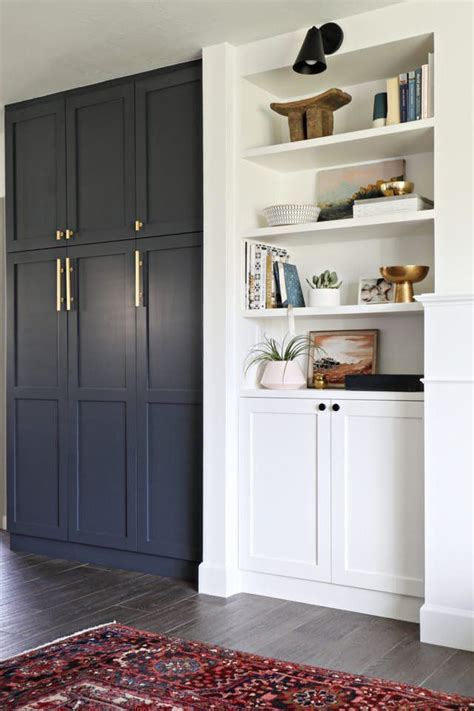 Ikea Cupboard Shelves by Smooth Ikea Pax Hacks That Look Seamless Built In