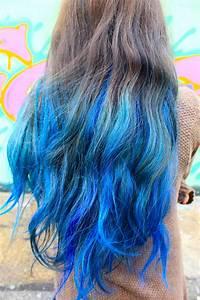 Blue Dip Dyed Hair Tumblr | www.pixshark.com - Images ...
