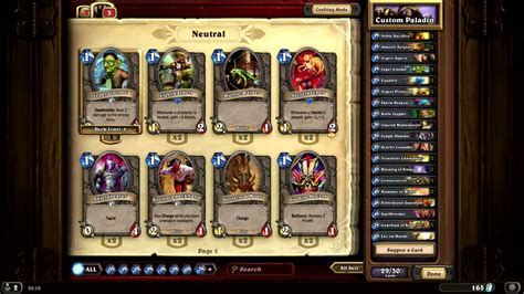 hearthstone paladin low budget deck youtube