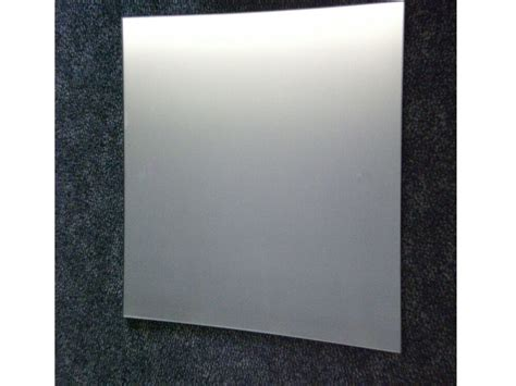 polished edge safety backed wall mirror mm  mm