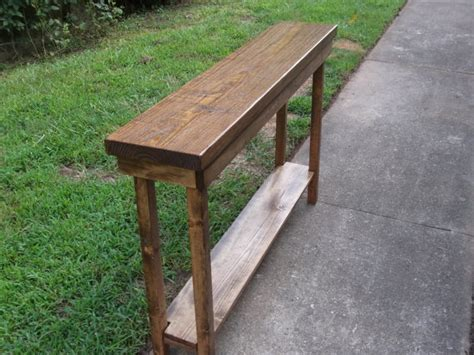 65 inch sofa table rustic console table extra narrow sofa table entryway hallway
