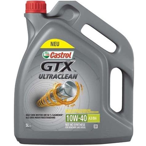 castrol gtx 10w40 castrol gtx 10w40 a3 b4 5l niemiecki olej silnikowy
