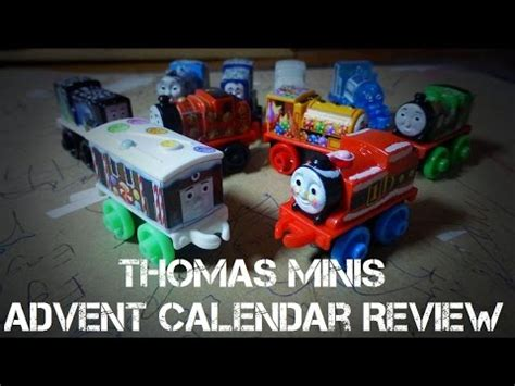 thomas minis advent calendar review exclusive trains youtube