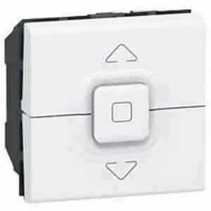 Interrupteur Volet Roulant : interrupteur volets roulants legrand mosaic blanc 077026 ~ Melissatoandfro.com Idées de Décoration
