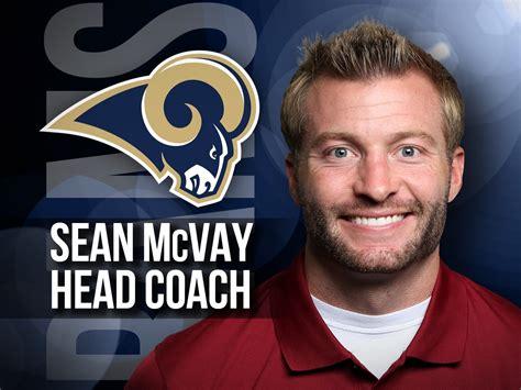 la rams  sean mcvay youngest head coach  nfl history