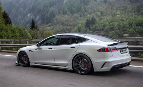 Model S P100d by Prior Design Tesla Model S P100d Shows Ev Tuning Potential