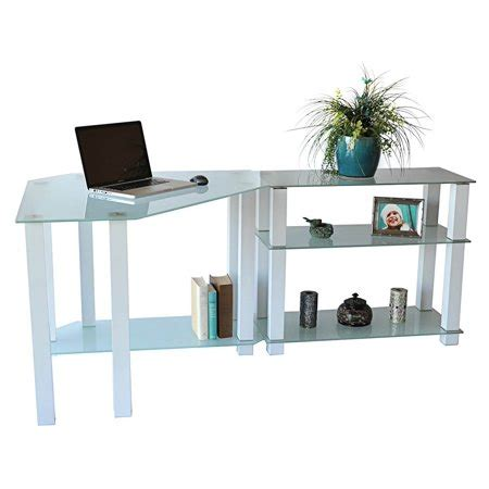 computer desk extension computer desk with right extension table walmart