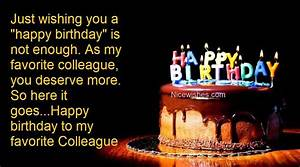 birthday, wishes, for, colleague