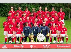 Bayern Munich Roster Players Squad 20172018 1718 Name
