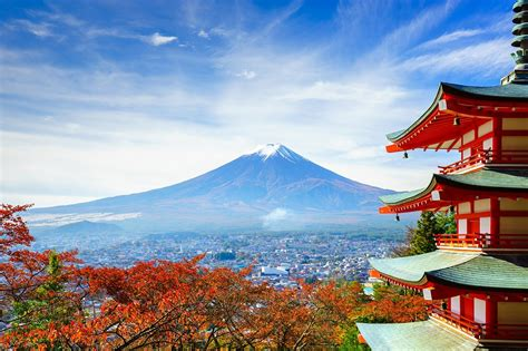 mount fuji japans picturesque attraction travel friendship