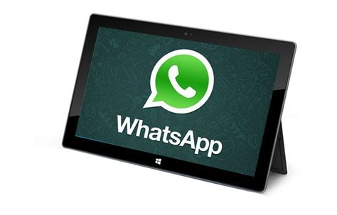 how to get whatsapp on tablets