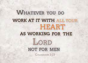Image result for working for the Lord not man bible hub