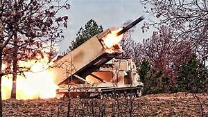 US Army M270 MLRS • Multiple Launch Rocket System - YouTube