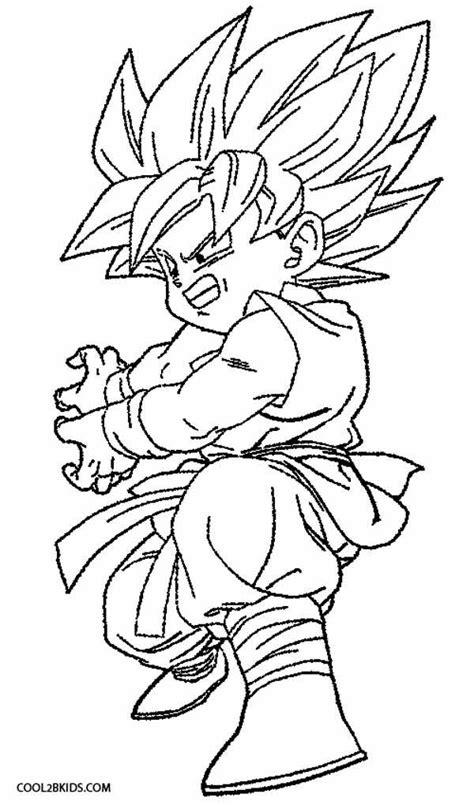 goku coloring pages kidsuki