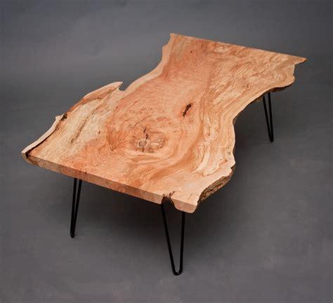 calvin maple coffee table reclaimed  edge