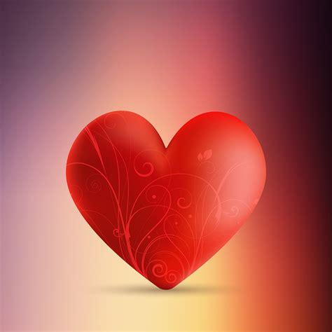 valentines day background  decorative heart  blur