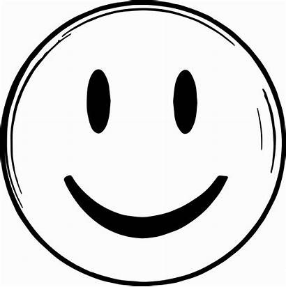 Emoji Coloring Face Smiley Pages Smiling Drawing