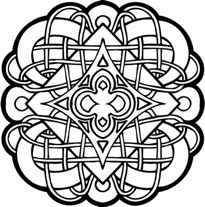 Celtic Coloring Pages Mandala Printable Designs Knot