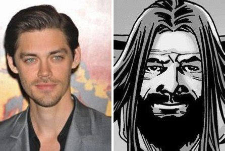 tom payne trucking who is the walking dead comic character jesus