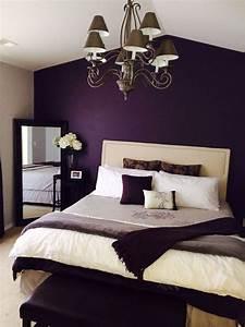 Romantic, Purple, Master, Bedroom, Ideas