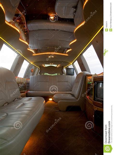 limousine interior stock image image