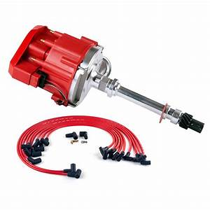 Sbc Small Block Chevy 350 Hei Distributor  U0026 Plug Wires 90