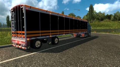 Wilkens Walking Floor Trailer Mod Euro Truck Simulator 2 Mods