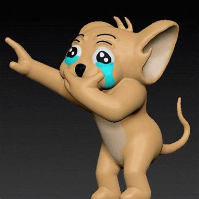 Jerry Crying Llorando Cults3d Did Gusta