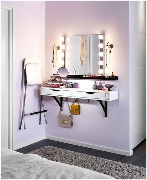 siege salle de bain leroy merlin 10 cool ideas to add a makeup area to your bedroom