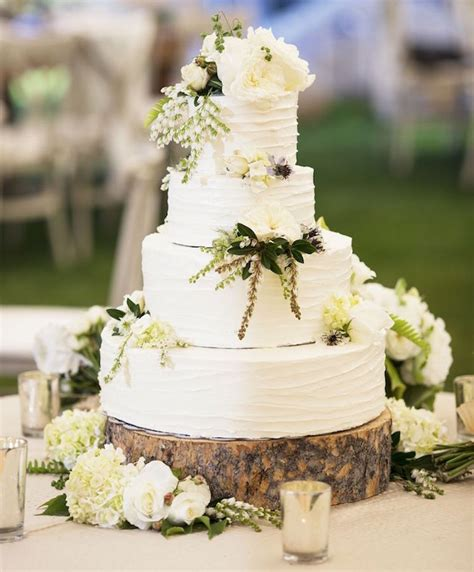 wedding cake displays natural cake stands inside weddings