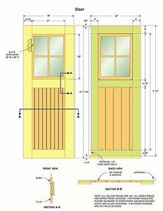 free plans how to build a wooden shed
