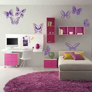 Εννέα διαφορετικές πεταλούδες Αυτοκόλλητο Τοίχου