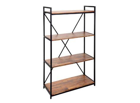 destockage meuble cuisine etagère 4 tablettes edena