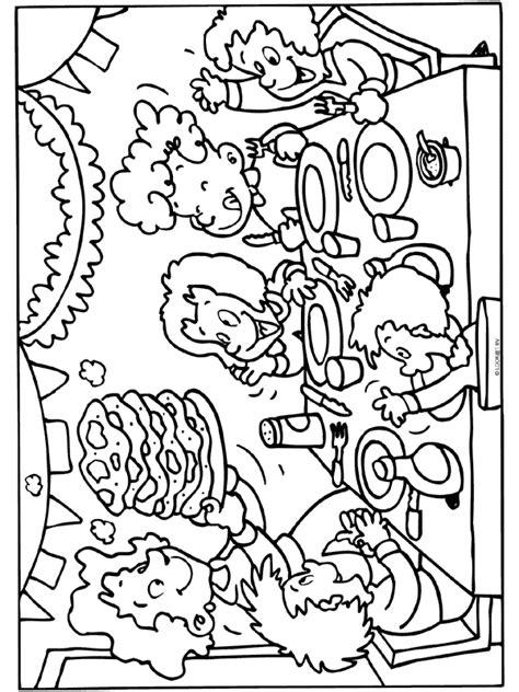 Kleurplaat Koekje Eten by Restaurant Kleurplaat Zoeken Lijn 3 Eet