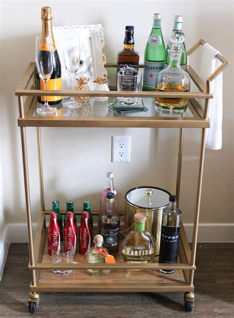 style  bar cart