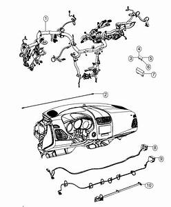 2014 Dodge Dart Wiring  Instrument Panel  Radio  Module