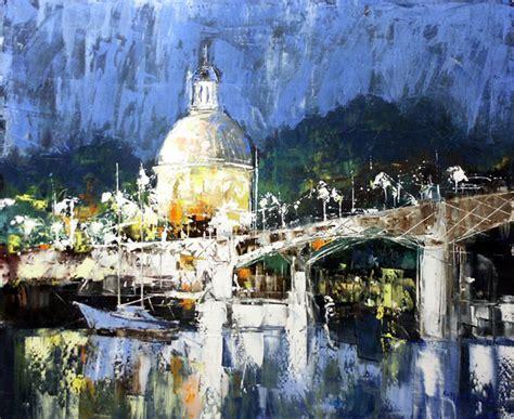 galerie graal galeries d contemporain peinture celestin messaggio toulouse la nuit