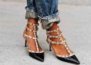 6bd012cb3d1 Fashion Cognoscente The Look for Less Valentino Rockstud Shoes