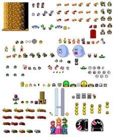 Super Mario World Sprites