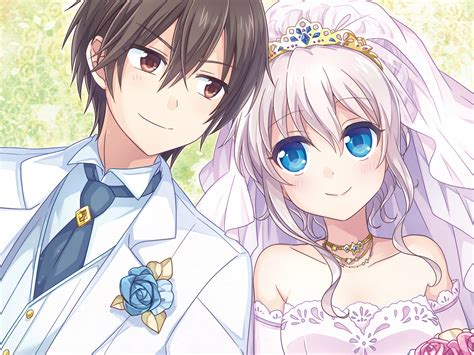 Anime Wedding Wallpaper - hd wallpaper and background image